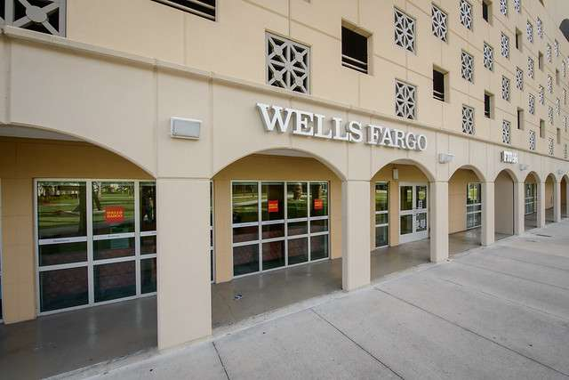 Exterior photo of Wells Fargo